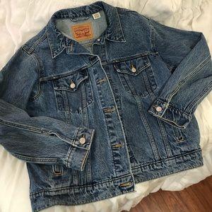Levi's Ex-Boyfriend Trucker Jacket (Women's)